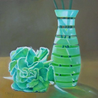 """Tis' Like a Morn' in Spring, Oil Painting by Linda McCoy"" original fine art by Linda McCoy"