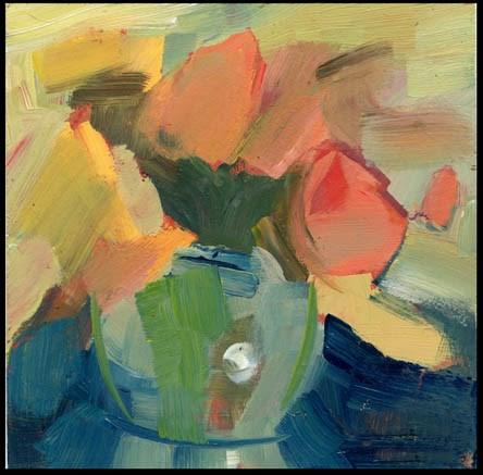"""2437 crop top"" original fine art by Lisa Daria"
