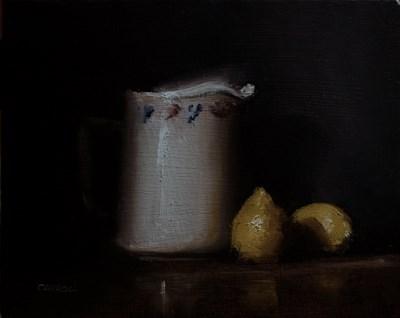 """Jug and Lemons"" original fine art by Neil Carroll"