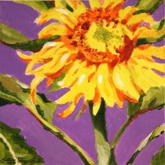 """Purple Haze"" original fine art by JoAnne Perez Robinson"
