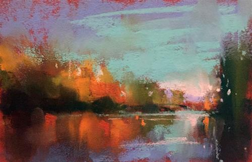 """""""Williamette View"""" original fine art by Marla Baggetta"""