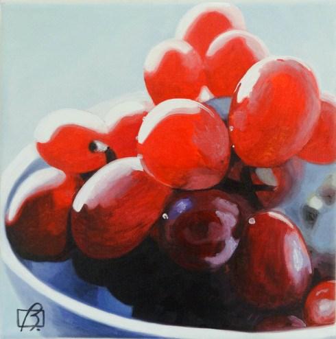 """""""Seedless Please"""" original fine art by Andre Beaulieu"""