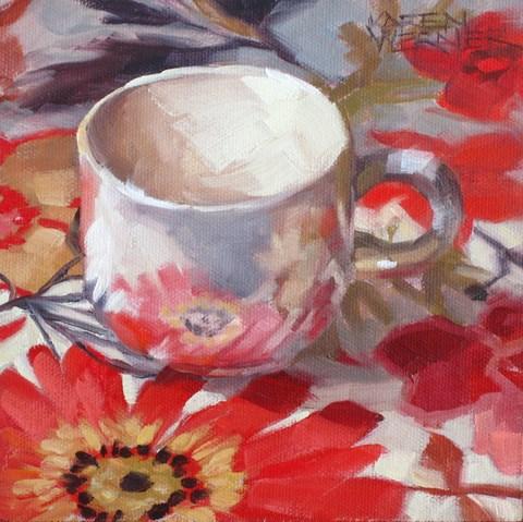 """""""Not So White"""" original fine art by Karen Werner"""