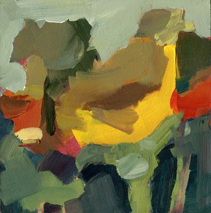 """1254 nine flipflops"" original fine art by Lisa Daria"