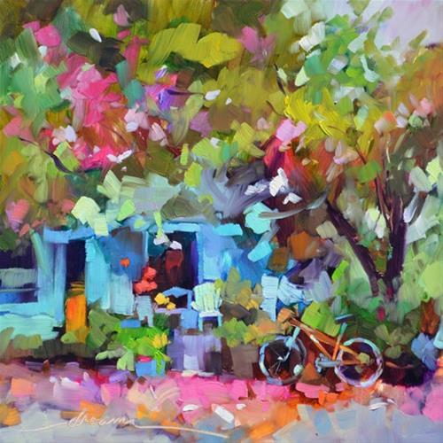 """""""Road Trips, Sisters and Oprah"""" original fine art by Dreama Tolle Perry"""
