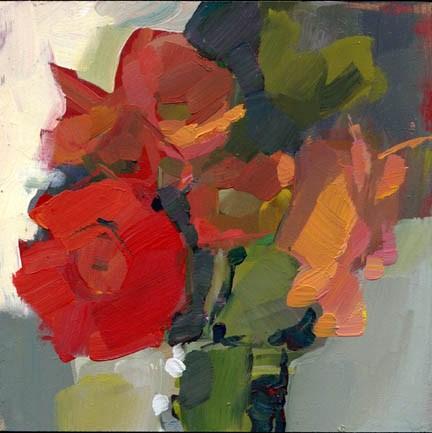 """1167 Almost like Yesterday"" original fine art by Lisa Daria"