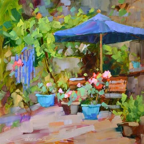 """""""Timeless Moments in France"""" original fine art by Dreama Tolle Perry"""