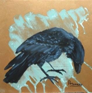 """Raven"" original fine art by Patricia Murray"
