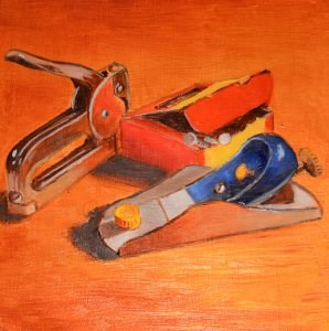 """""""Tools of the Trade"""" original fine art by Robert Frankis"""