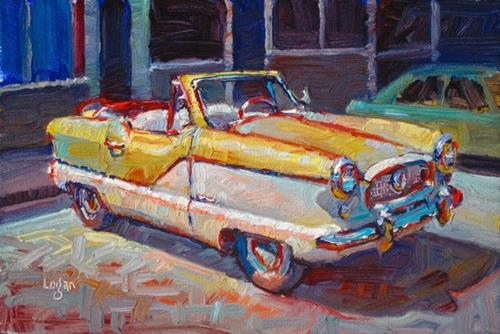 """1961 Metropolitan"" original fine art by Raymond Logan"