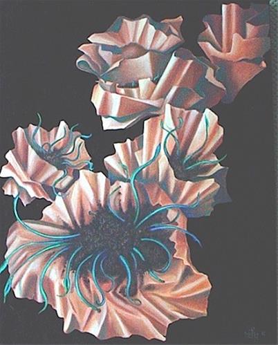 """Small Bundles"" original fine art by Joetta Currie"