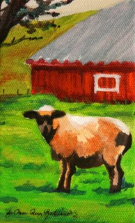 """""""You Looking at Me?"""" original fine art by JoAnne Perez Robinson"""