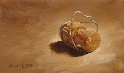 """Popped"" original fine art by Michael Naples"