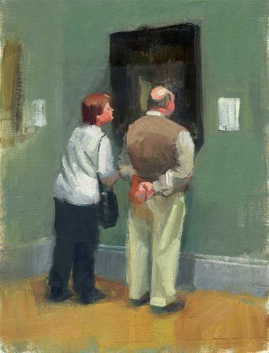 """Art appreciation-sold"" original fine art by Kathy Weber"