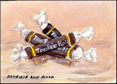 """Tootsies"" original fine art by Patricia Ann Rizzo"