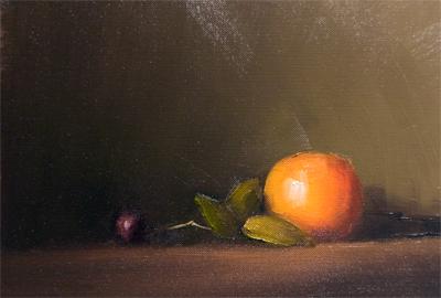 """""""Orange"""" original fine art by Neil Carroll"""