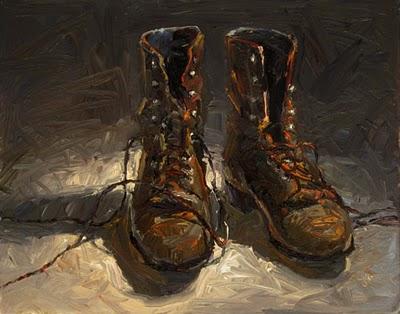 """J's Ropers"" original fine art by Raymond Logan"
