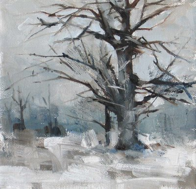 """Desolation"" original fine art by Qiang Huang"