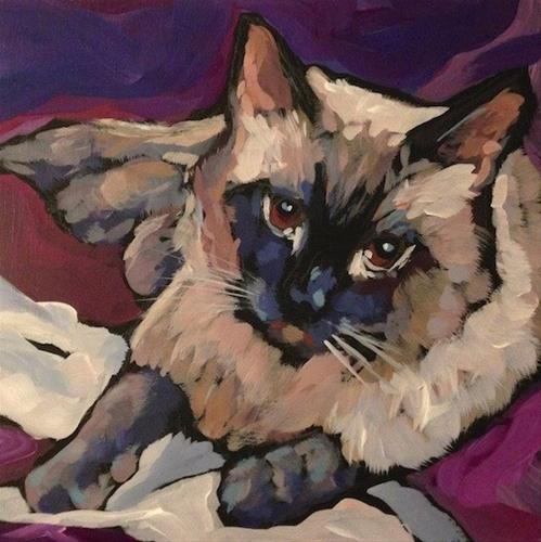 """Ari, March 2"" original fine art by Kat Corrigan"
