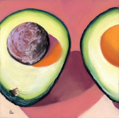 """Side by Side"" original fine art by Ria Hills"