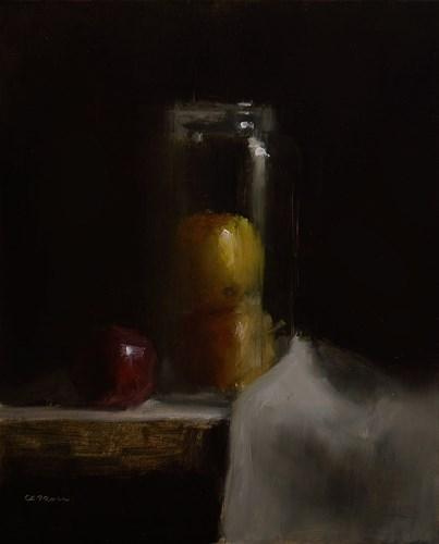 """Apple Jar"" original fine art by Neil Carroll"