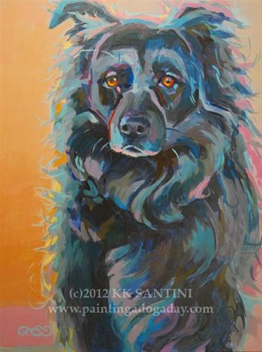 """Mazey"" original fine art by Kimberly Santini"