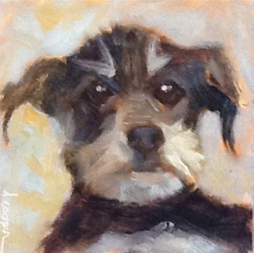 """""""Gus"""" original fine art by Dana Cooper"""