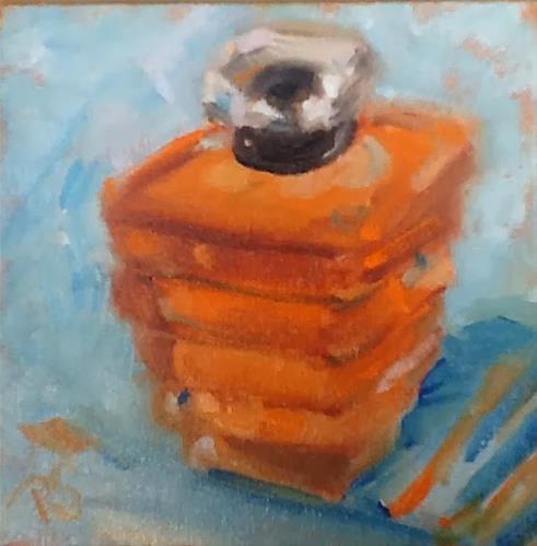 """My Favorite Perfume"" original fine art by Peggy Schumm"