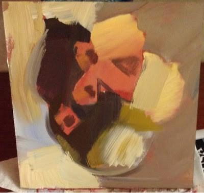 """2218 Cabernet Franc"" original fine art by Lisa Daria"