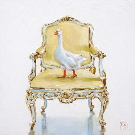 """golden egg"" original fine art by Kimberly Applegate"
