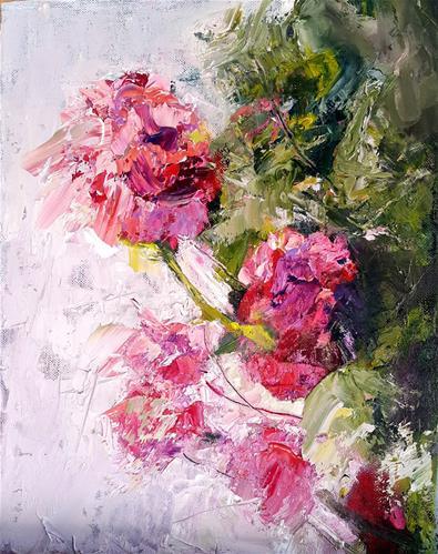"""Colour of candy"" original fine art by Rentia Coetzee"