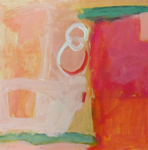 """Pink Link"" original fine art by Pamela Munger"