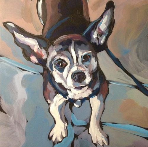 """September 14, Ruby!"" original fine art by Kat Corrigan"