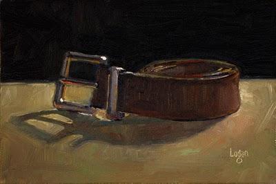 """Belt"" original fine art by Raymond Logan"