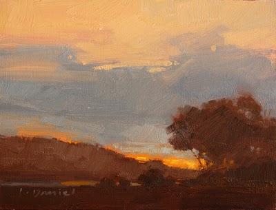 """""""Glorious Morning 1"""" original fine art by Laurel Daniel"""