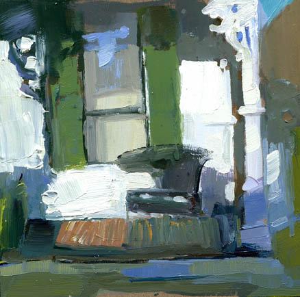 """""""Sit #873"""" original fine art by Lisa Daria"""