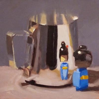 """MINI ME"" original fine art by Helen Cooper"