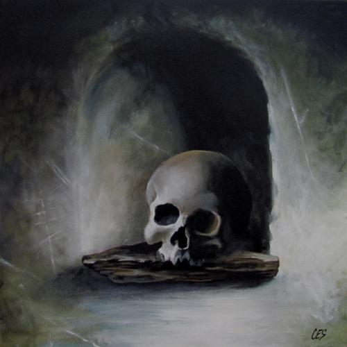 """""""Niche in Life"""" original fine art by ~ces~ Christine E. S. Code"""