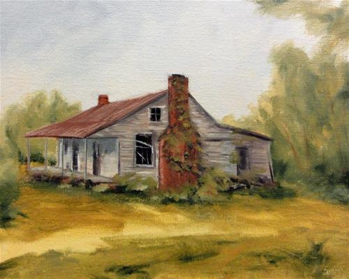 """Zorn Palette House"" original fine art by Dalan Wells"