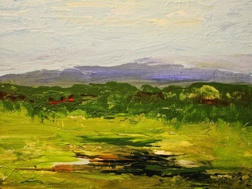 """March Landscape, Contemporary Landscape Paintings by Arizona Artist Amy Whitehouse"" original fine art by Amy Whitehouse"