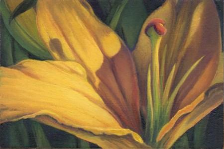 """""""Basking in the Light"""" original fine art by Carol L Adamec"""