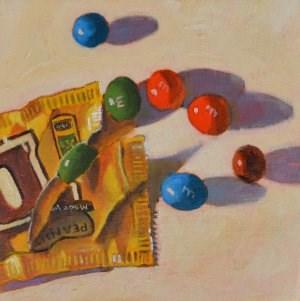 """Favorite Candy"" original fine art by Robert Frankis"
