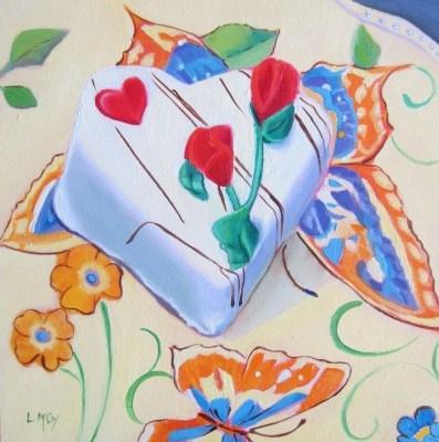"""How Sweet the Beat, Oil Painting by Linda McCoy"" original fine art by Linda McCoy"