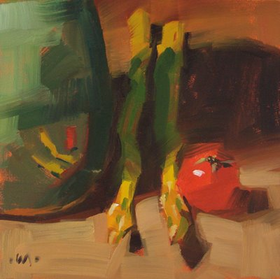 """Microcosm"" original fine art by Carol Marine"