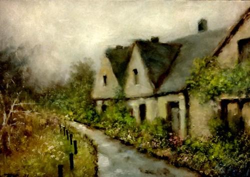 """""""Rainy Day"""" original fine art by Bob Kimball"""