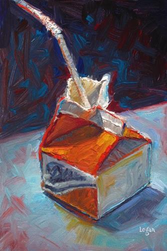 """""""Mini OJ"""" original fine art by Raymond Logan"""
