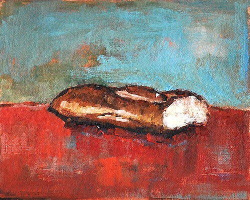 """Baguette Painting"" original fine art by Kevin Inman"