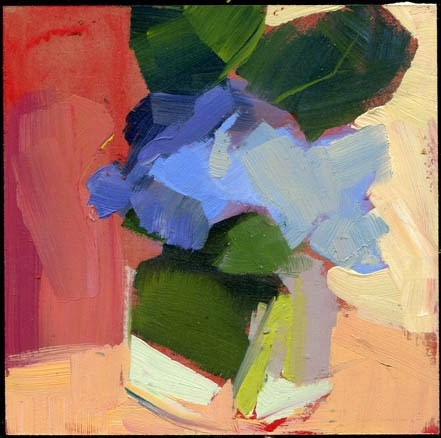"""2139 Fidgety"" original fine art by Lisa Daria"