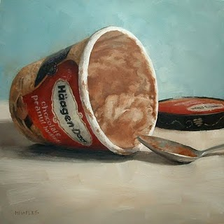 """Indulgence"" original fine art by Michael Naples"