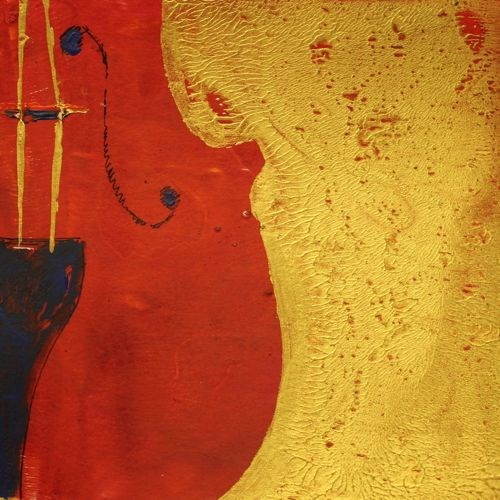 """""""Cello 2, Musical Instruments Contemporary Artwork by Amy Whitehouse"""" original fine art by Amy Whitehouse"""